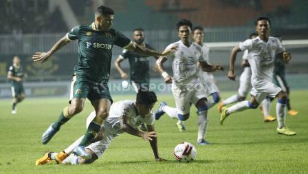 Menjadi tuan rumah, Tira Persikabo menderita kekalahan pertama di Liga 1.
