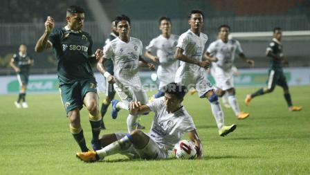 Laga Liga 1 antara Tira-Persikabo melawan Arema FC berakhir untuk kemenangan Singo Edan pada hari Senin (02/03/20) WIB.
