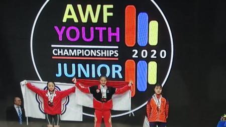Kejuaraan angkat besi dunia junior di Rumania dikabarkan batal karena virus corona. - INDOSPORT