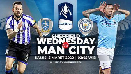 Prediksi pertandingan Sheffield Wednesday vs Manchester City dalam ajang Piala FA 2019-20 tampaknya bakal berjalan menarik, Kamis (05/03/20). - INDOSPORT