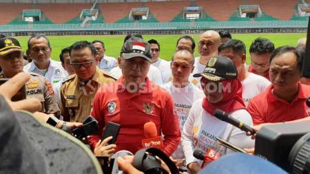 Ketua Umum PSSI, Mochamad Irawan, beberkan target untuk Timnas Indonesia di ajang Piala Dunia U-20 2021. - INDOSPORT