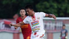 Indosport - Gelandang klub Liga 1, Persija Jakarta, Sandi Darma Sute.