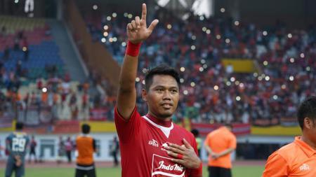 Bek sayap kiri Persija Jakarta, Tony Sucipto. - INDOSPORT