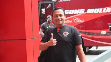Berikut profil singkat akan sosok Eko Tamamie, anggota Polri yang menjadi pelatih anyar Kalteng Putra di kompetisi Liga 2 2020. - INDOSPORT