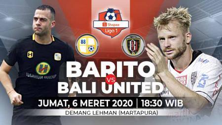 Juara bertahan Liga 1, Bali United, akan menjalani laga selanjutnya kala bertandang ke Kalimantan saat menghadapi Barito Putera pada pekan kedua - INDOSPORT