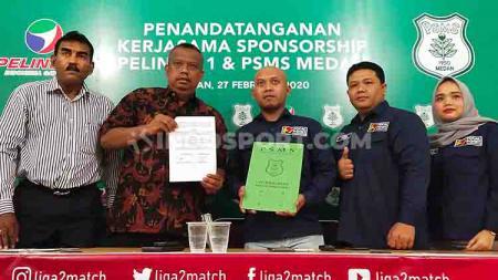 Jelang bergulirnya kompetisi Liga 2 2020 pada akhir pekan depan, PSMS Medan kembali mendapat dukungan dari pihak swasta. - INDOSPORT