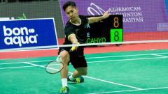 Indosport - Ade Resky Dwicahyo, pebulutangkis Indonesia yang membela Azerbaijan.