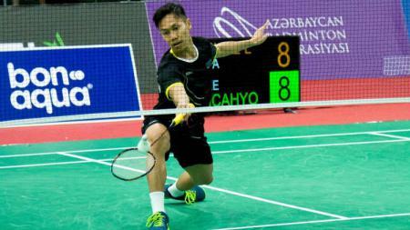 Pebulutangkis asal Indonesia yang kini bermain di Azerbaijan,  Ade Resky Dwicahyo, membeberkan dua lawan dambaannya. - INDOSPORT