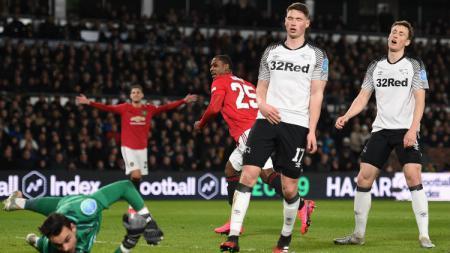 Kali ini INDOSPORT mencoba untuk merangkum 4 fakta di balik kemenangan besar Manchester United atas Derby County di babak kelima Piala FA 2019/20. - INDOSPORT