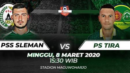 Berikut prediksi pertandingan Liga 1 Indonesia antara PSS Sleman vs Tira Persikabo. - INDOSPORT