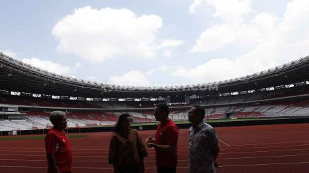 Ketua umum PSSI, Mochammad Iriawan di Stadion Utama Gelora Bung Karno, Senayan, Jakarta. - INDOSPORT