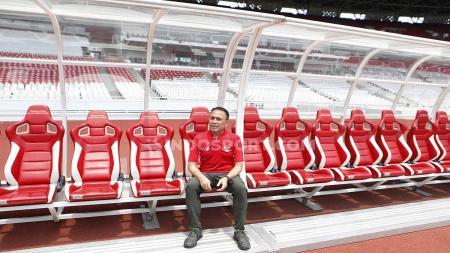 Ketua Umum PSSI, Mochammad Iriawan, melanjutkan inspeksi calon stadion Piala Dunia U-20 2021. - INDOSPORT