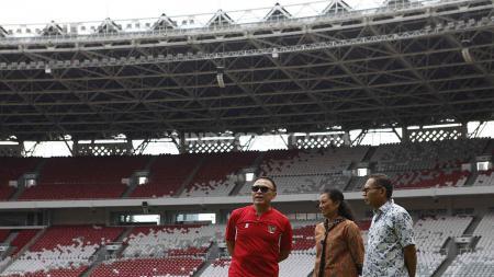 Ketua Umum PSSI, Mochamad Iriawan angkat bicara mengenai adanya beberapa klub yang menolak Liga 1 2020 dilanjutkan. - INDOSPORT