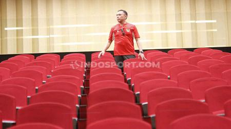 Ketua umum PSSI, Mochammad Iriawan melanjutkan inspeksi calon stadion Piala Dunia U-20 2021. Kali ini giliran Stadion Gelora Bung Karno, Senayan Jakarta. - INDOSPORT