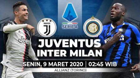 Berikut adalah link live streaming laga Serie A Italia antara Juventus vs Inter Milan. - INDOSPORT