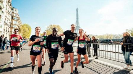 Paris Marathon jadi salah satu event olahraga yang terdampak virus Corona. - INDOSPORT