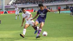 Indosport - Edo Febriansah, pencetak gol Persita Tangerang.