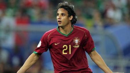 Nuno Gomes, legenda Timnas Portugal. - INDOSPORT