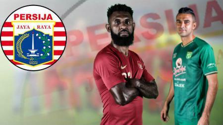 Membayangkan duet bek Timnas Indonesia Otavio Dutra-Yanto Basna di Persija Jakarta pada Liga 1 2020. - INDOSPORT