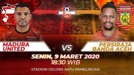 Prediksi pertandingan Madura United vs Persiraja Banda Aceh di Liga 1 2020 tampaknya membuat tuan rumah bakal teruskan tren positif, Senin (09/03/20). - INDOSPORT