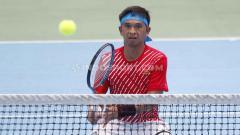 Indosport - Petenis Indonesia, Christopher Rungkat menjalani rapid test di, Jakarta, Senin (6/7/20).