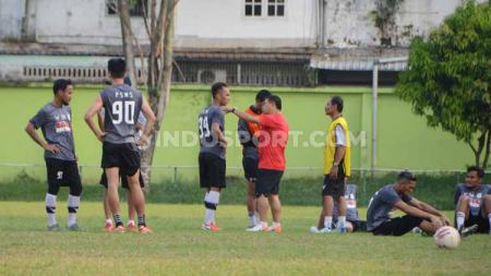 Klub Liga 2 2020, PSMS Medan, saat ini sedang diliburkan hingga waktu yang belum ditentukan, mengingat adanya wabah virus corona. - INDOSPORT