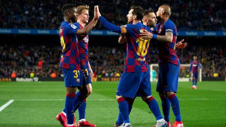 Bak seleksi alam, hanya ada enam bintang Barcelona yang bisa punya masa depan cerah. - INDOSPORT