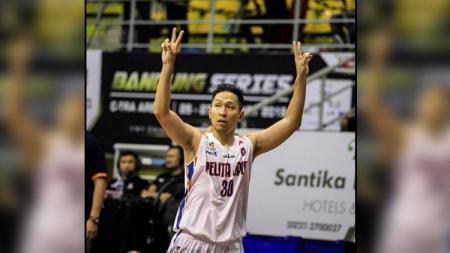 Xaverius Prawiro mantan pemain basket Pelita Jaya Jakarta. - INDOSPORT