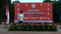 Indosport - Ketua Teqball Indonesia, Hellen Sarlita de Lima.
