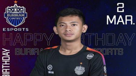 Rizky Faidan, pemain PES Indonesia di Thai e-League Pro - INDOSPORT