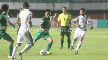 Sejumlah catatan menarik tercipta usai laga PSS Sleman melawan Tira Persikabo pada pekan ke-2 Liga 1 2020 di Stadion Maguwoharjo, Minggu (08/03/20). - INDOSPORT