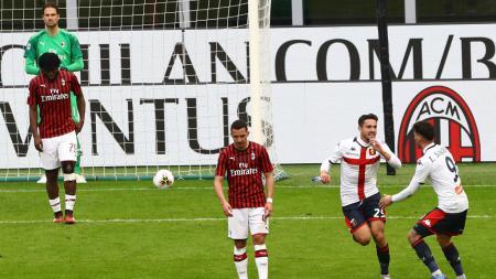Dituduh Kalah Gara-gara Virus Corona, Pelatih AC Milan Ngamuk. - INDOSPORT
