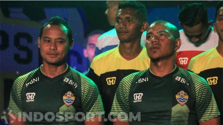 Tim sepak bola PSKC Cimahi kemungkinan besar tidak akan diperkuat oleh mantan pemain Persib Bandung, Atep dan Siswanto, saat kompetisi Liga 2 2020 kembali dilanjutkan. - INDOSPORT