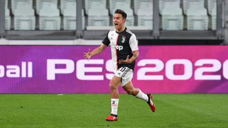 Penyerang Juventus, Paulo Dybala, sempat mengalami kehabisan nafas sebelum dinyatakan sembuh dari positif virus corona. - INDOSPORT