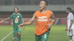 Indosport - Full back PSS Sleman, Arthur Irawan, memberikan komentar perihal keputusan lanjutan Liga 1 2020 tanpa degradasi.