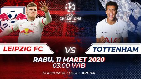Prediksi RB Leipzig vs Tottenham Hotspur. - INDOSPORT