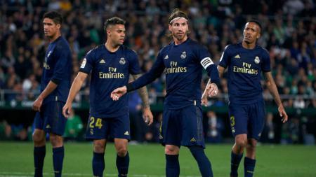 Hadapi imbas krisis finansial karena virus Corona, klub LaLiga Spanyol, Real Madrid, bisa lakukan langkah nekat ini. - INDOSPORT