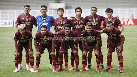 Starting XI PSM Makassar dalam laga penyisihan Grup H Piala AFC 2020 kontra Kaya FC, Selasa (10/03/20).