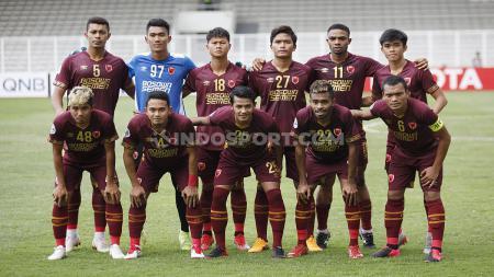 Skuat klub Liga 1 PSM Makassar. - INDOSPORT