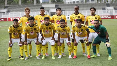 Starting XI Kaya FC dalam laga penyisihan Grup H Piala AFC 2020 kontra PSM Makassar, Selasa (10/03/20).