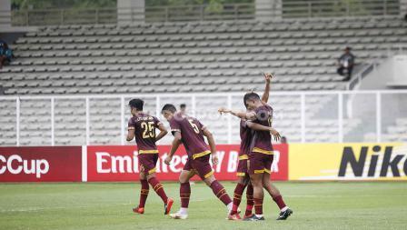 PSM Makassar berhasil menjadi pihak yang mencetak gol lebih dulu di menit ke-10 kontra Kaya FC di Piala AFC 2020.