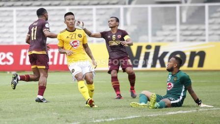 Laga PSM Makassar vs Kaya FC di Piala AFC 2020 berakhir dengan skor 1-1.