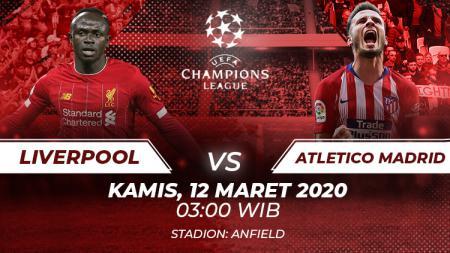 Berikut prediksi pertandingan antara Liverpool vs Atletico Madrid pada leg kedua 16 besar Liga Champions, Kamis (12/03/20) dini hari WIB. - INDOSPORT