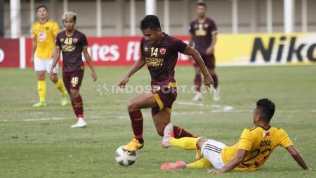 Membandingkan tiga pertandingan PSM Makassar di kancah Piala AFC dalam dua musim terakhir. - INDOSPORT