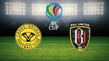 Berikut perbedaan peringkat yang sangat jauh antara Ceres-Negros dan Bali United menjelang duel di Piala AFC 2020, Rabu (11/03/20). - INDOSPORT