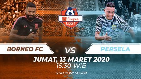 Borneo FC akan menjamu Persela Lamongan dalam laga lanjutan Liga 1 pekan ke-3 yang akan digelar pada hari Jumat (13/3/2020) di Stadion Segiri pada pukul 15.30 WIB. - INDOSPORT
