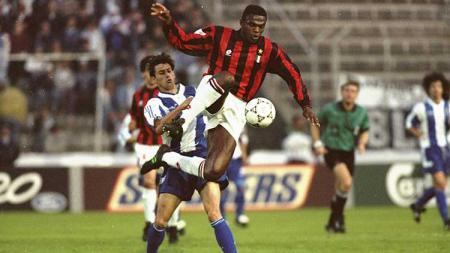 Apa kabar Marcel Desailly? Legenda AC Milan dan Timnas Prancis yang meraih beragam gelar juara seperti Liga Champions sampai Piala Dunia. - INDOSPORT
