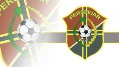 Indosport - Logo klub Liga 2, Persewar Waropen.