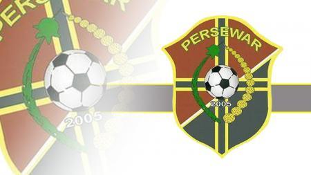 Logo klub Liga 2, Persewar Waropen. - INDOSPORT