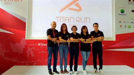 Titan Run 2020 yang kembali hadir mencoba ambil bagian mengajak masyarakat untuk menjaga kesehatan. - INDOSPORT